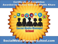 Social Media Manager Certification
