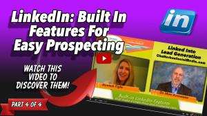 Hannah Tighe - LinkedIn Features for Easy Prospecting