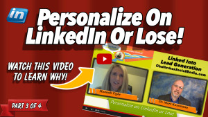 Hannah Tighe _ Personalize On LinkedIn Or Lose